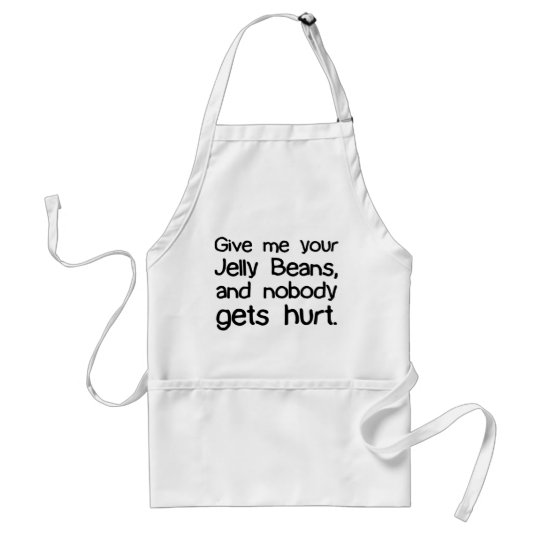 Give Me Your Jelly Beans Adult Apron