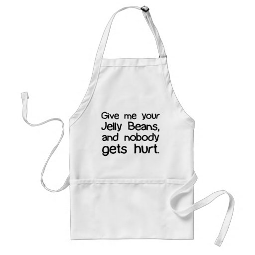 Give Me Your Jelly Beans Aprons