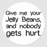 Give Me Your Jelly Beans Sticker