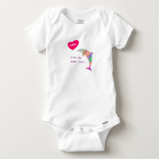 Give me your love baby onesie