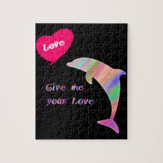 Give me your love_dolphin jigsaw puzzle