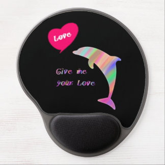 Give me your love gel mouse pad
