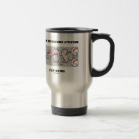 Give Me Your Undivided Attention Study Mitosis 15 Oz Stainless Steel Travel Mug