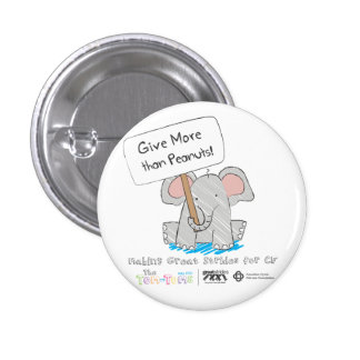 Give More than Peanuts! Button