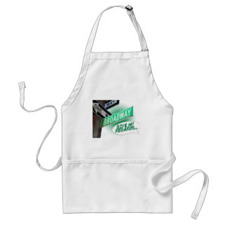 Give my regards... adult apron