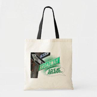 Give my regards... tote bag