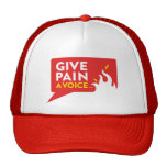Give Pain A Voice Trucker Hat
