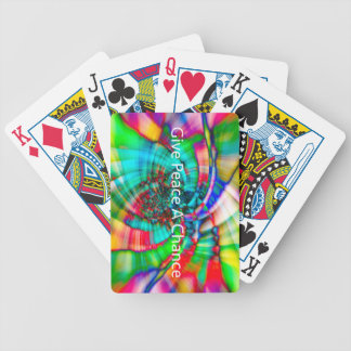 Give Peace a Chance Bicycle Playing Cards