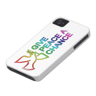 Give Peace a Chance BlackBerry Bold Cases