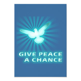 Give Peace a Chance Card