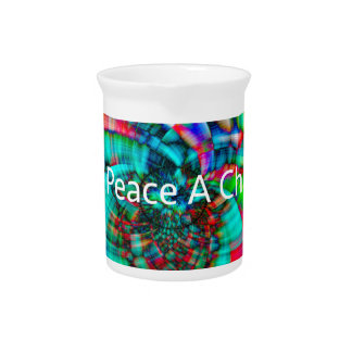 Give Peace a Chance Drink Pitcher