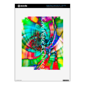 Give Peace a Chance iPad 3 Decal