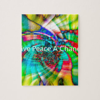 Give Peace a Chance Jigsaw Puzzle