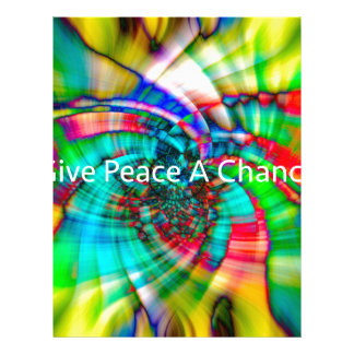 Give Peace a Chance Letterhead
