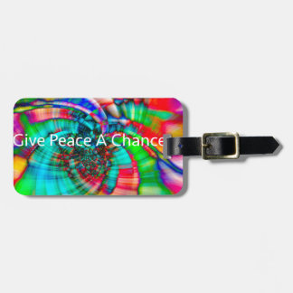Give Peace a Chance Luggage Tag