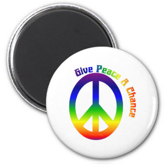 Give Peace a Chance! Magnet