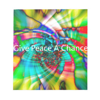 Give Peace a Chance Notepad