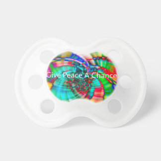 Give Peace a Chance Pacifier