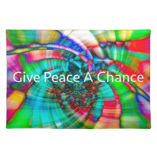 Give Peace a Chance Placemat