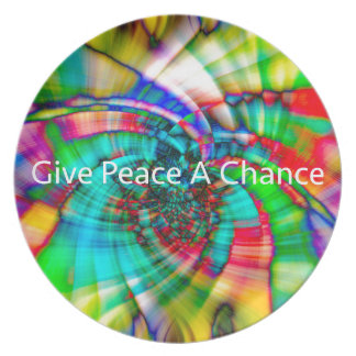 Give Peace a Chance Plate
