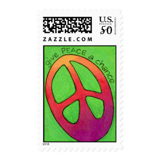 give PEACE a chance Postage