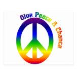Give Peace a Chance! Postcard