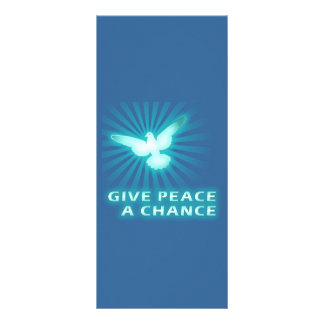 Give Peace a Chance Rack Cards