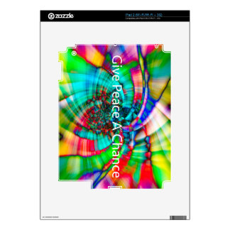 Give Peace a Chance Skins For iPad 2