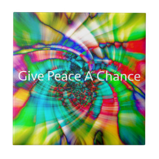 Give Peace a Chance Tile
