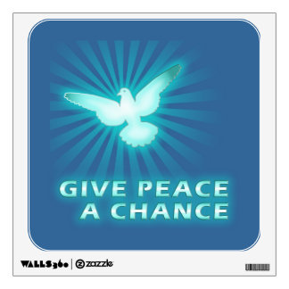 Give Peace a Chance Room Stickers