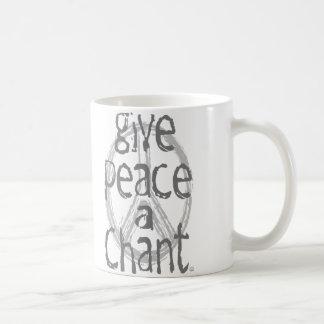 Give Peace A Chant Coffee Mug