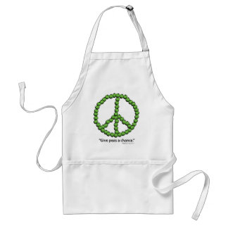 Give Peas A Chance Adult Apron