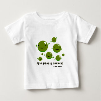 Give Peas a Chance Baby T-Shirt