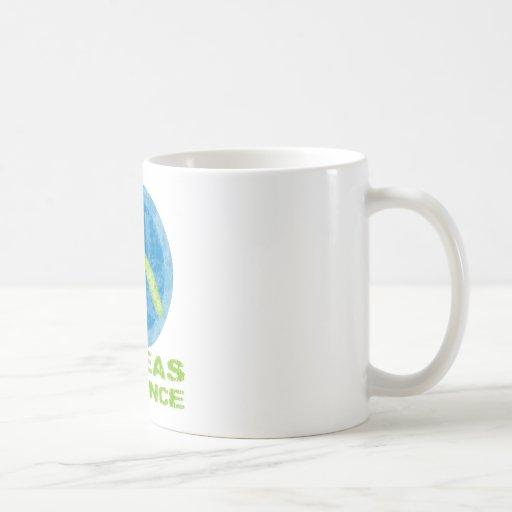 Give Peas a Chance Classic White Coffee Mug