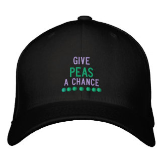 GIVE PEAS A CHANCE - HAT