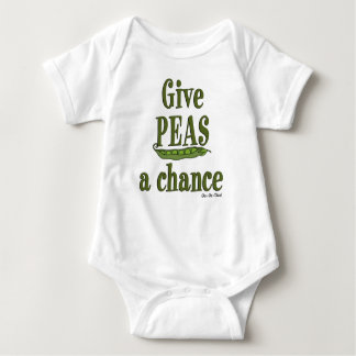 Give Peas a Chance Infant Creeper