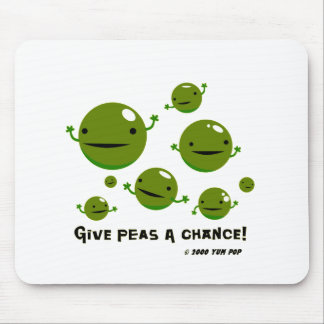 Give Peas a Chance Mouse Pad