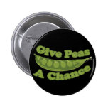 Give peas a chance pin