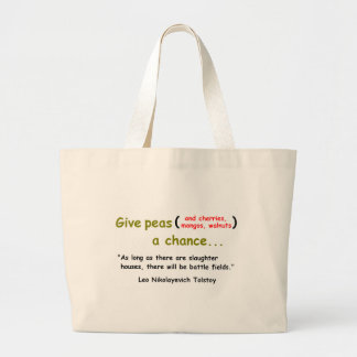 Give Peas a Chance Tote