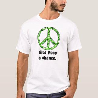Give Peas a Chance Tshirt