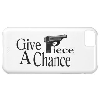 Give Piece A Chance iPhone 5C Covers