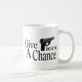 Give Piece A Chance Coffee Mug