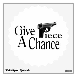 Give Piece A Chance Wall Decal