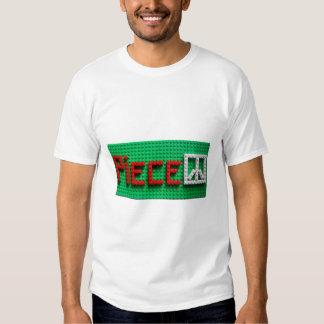 : Give Piece a Chance White T-shirt