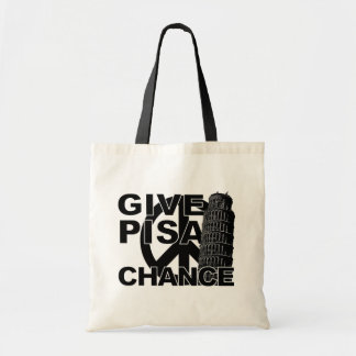Give Pisa Chance bag - choose style, color