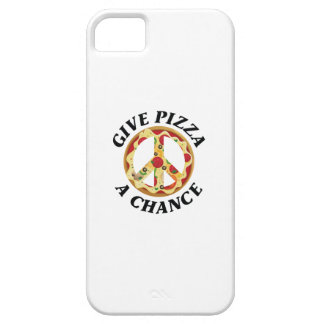Give Pizza A Chance iPhone SE/5/5s Case