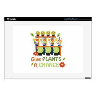 """Give Plants Chance Skins For 15"""" Laptops"""