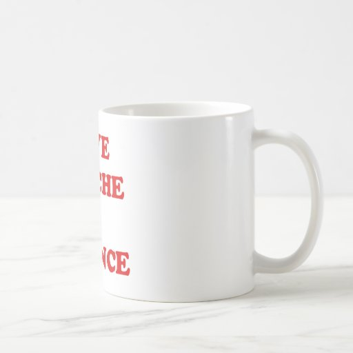 GIVE QUICHE A CHANCE COFFEE MUGS