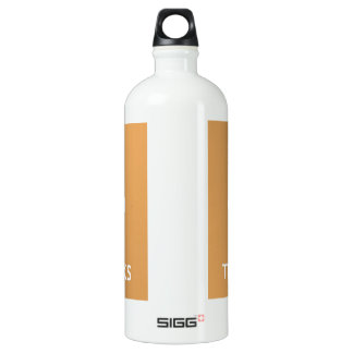 Give Thanks Aluminum Water Bottle