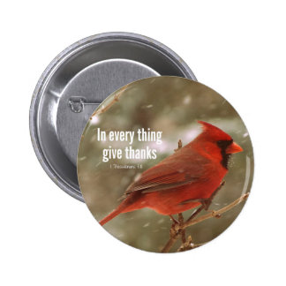 Give Thanks Bible Verse Button